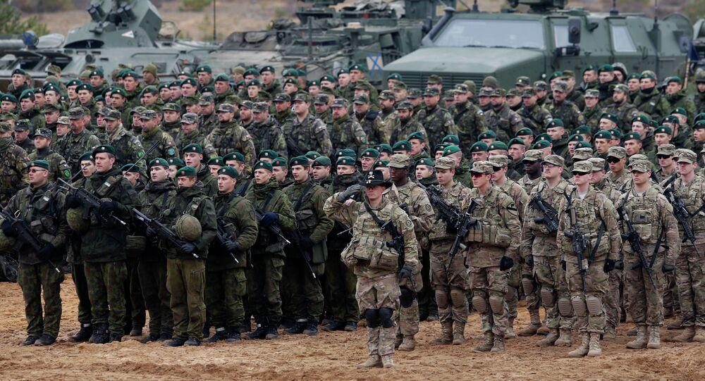 Maniobras de la OTAN en Lituania (Archivo)