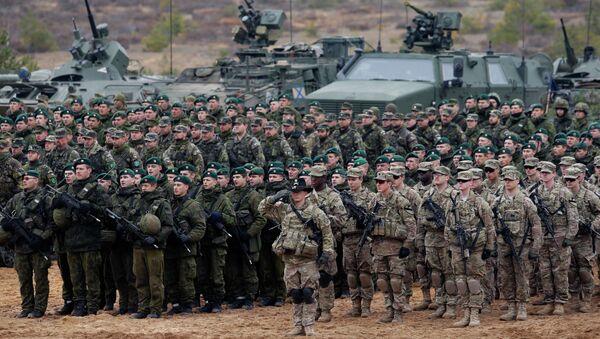 Militares de la OTAN en Lituania - Sputnik Mundo