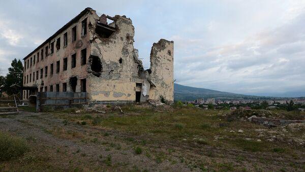 Consecuencias de la guerra en Osetia del Sur en 2008 (archivo) - Sputnik Mundo