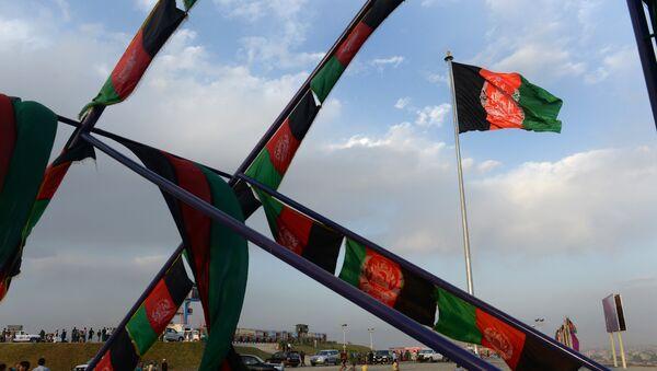 Afghan flag - Sputnik Mundo