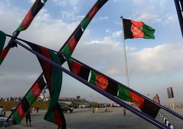 Las banderas de Afganistán