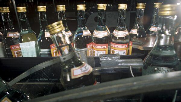Producción de vodka Stolichnaya - Sputnik Mundo