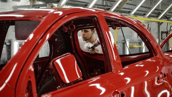 Fabricación de automóviles en Brasil - Sputnik Mundo