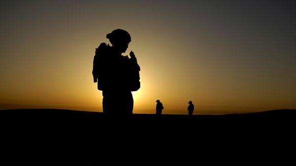 Soldado estadounidense en Irak (archivo) - Sputnik Mundo