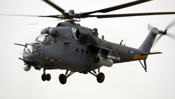 Helicóptero de combate Mi-35M - Sputnik Mundo