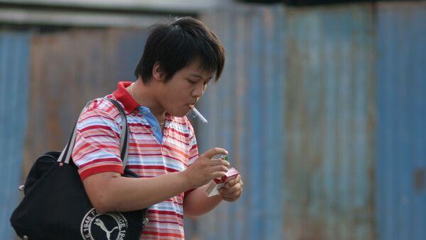 Fumador - Sputnik Mundo