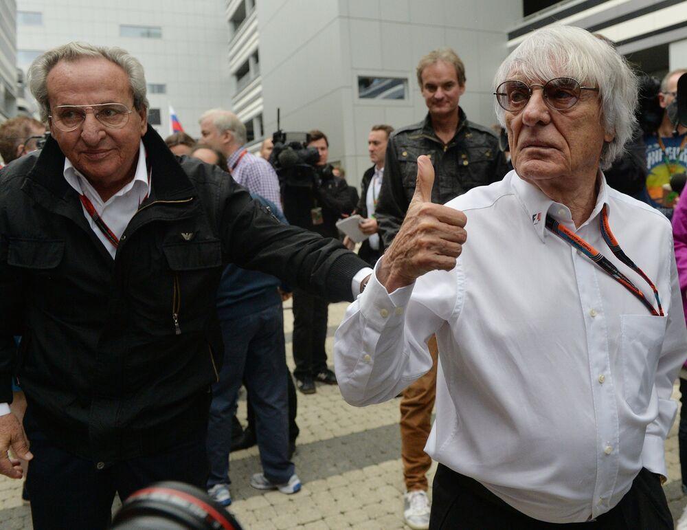 Primera serie de entrenamientos libres del GP de Rusia de Fórmula Uno