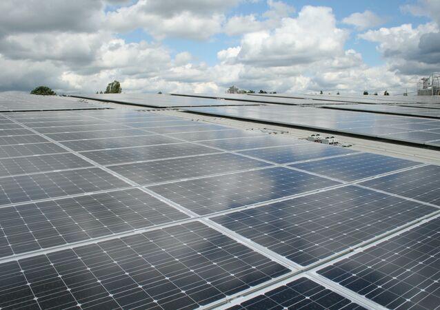 Placas solares (imagen referencial)