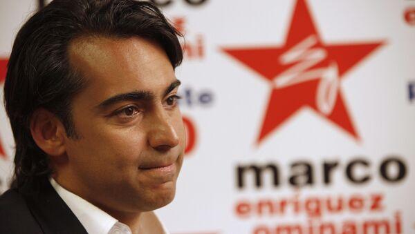 Marco Enríquez-Ominami, el candidato presidencial de Chile - Sputnik Mundo