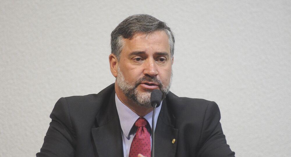 Paulo Pimenta, diputado del Partido de los Trabajadores (PT)