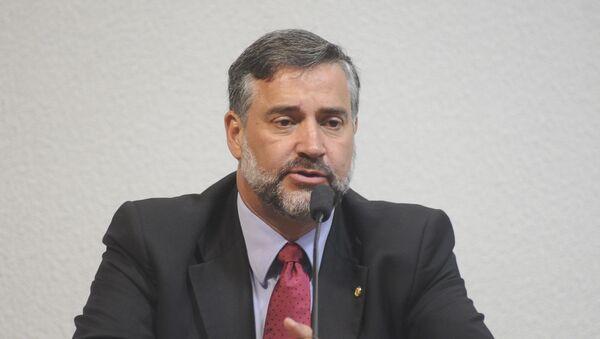 Paulo Pimenta, diputado del Partido de los Trabajadores (PT) - Sputnik Mundo