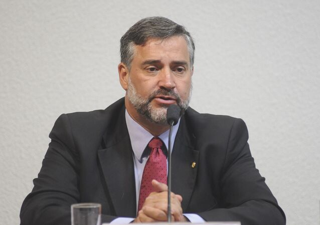 Paulo Pimenta, vicelíder del gobierno en el Congreso Nacional de Brasil