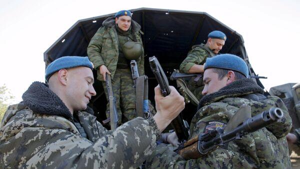 Milicias del este de Ucrania - Sputnik Mundo