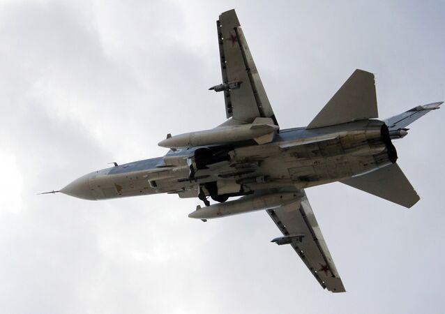 Bombardero ruso Su-24