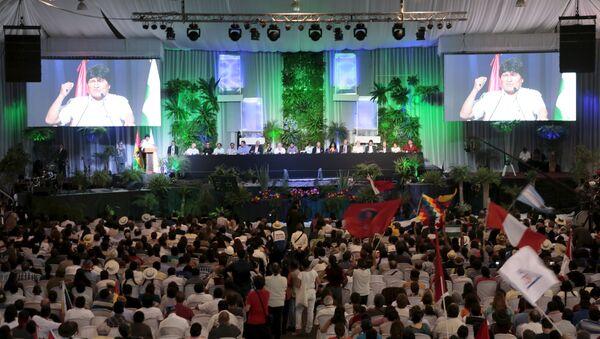 II Conferencia de los Pueblos por el Cambio Climático - Sputnik Mundo