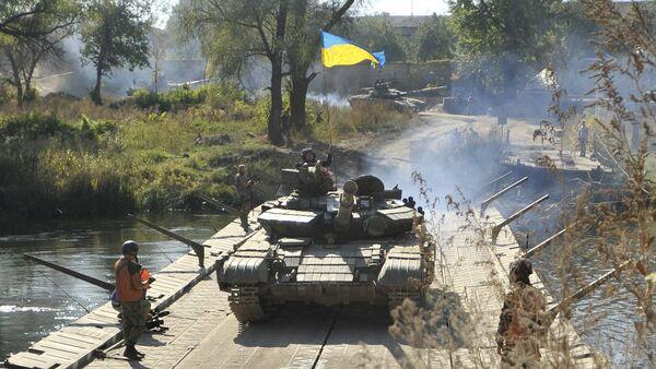 Tanque ucraniano - Sputnik Mundo