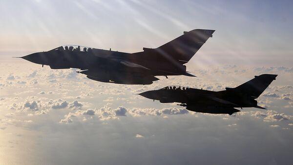 Cazas Tornado de la Real Fuerza Aérea (RAF) británica - Sputnik Mundo