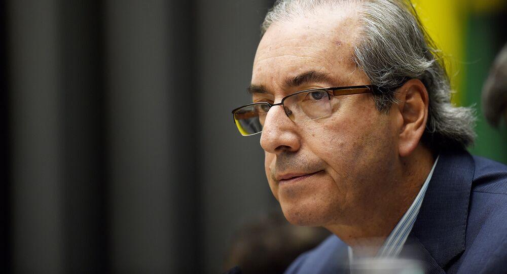 Eduardo Cunha, el expresidente del Congreso de los Diputados de Brasil