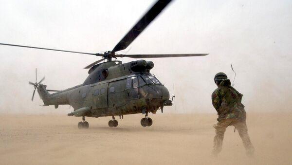 Helicóptero Puma de la Real Fuerza Aérea (archivo) - Sputnik Mundo