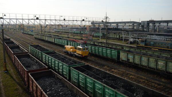 Suministros de carbón (Archivo) - Sputnik Mundo