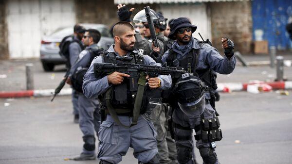 Policías israelíes - Sputnik Mundo