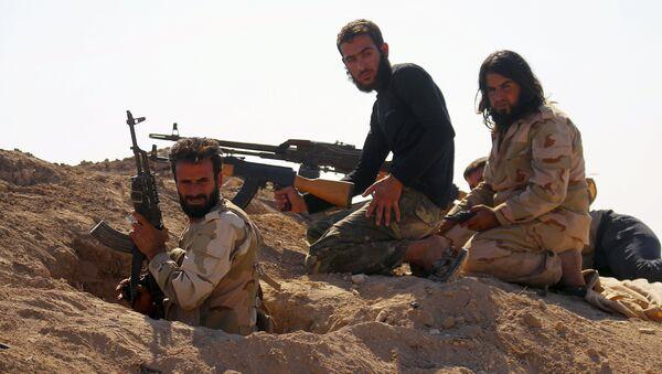 Combatientes rebeldes sirios - Sputnik Mundo