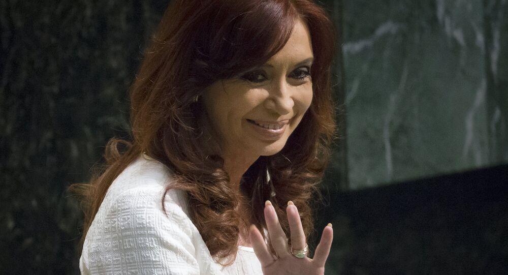 Cristina Fernández de Kirchner, expresidenta de la nación argentina