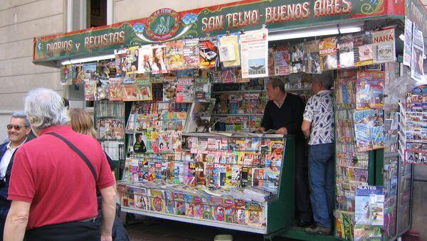 Quiosco en Buenos Aires - Sputnik Mundo