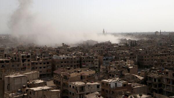 Ciudad de Duma en la provincia de Damasco, Siria - Sputnik Mundo