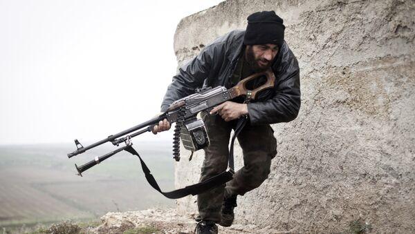 Soldado del Ejército Libre Sirio (archivo) - Sputnik Mundo