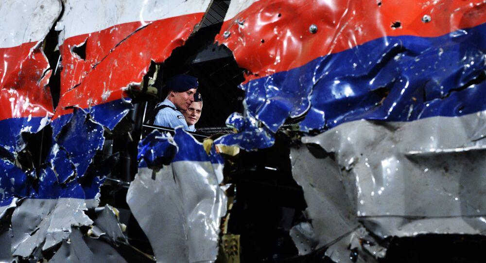 Restos del avión MH17 siniestrado en el este de Ucrania