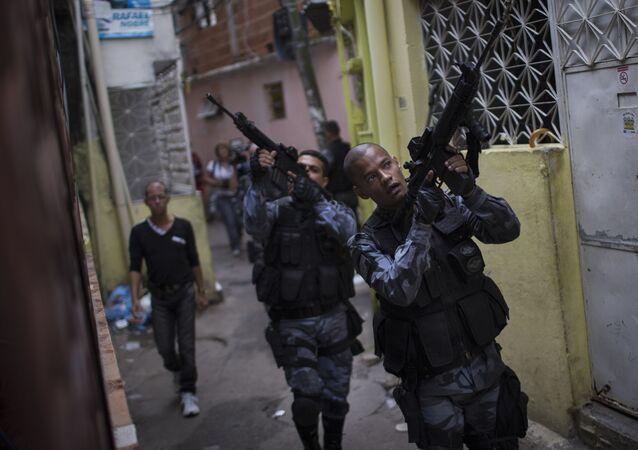 Policía Militar de Río de Janeiro