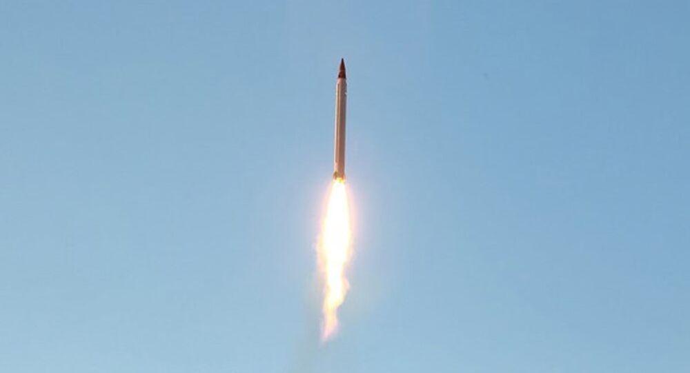 Misil balístico de Irán (archivo)