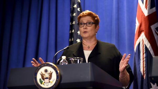 Marise Payne, ministro de Defensa de Australia - Sputnik Mundo