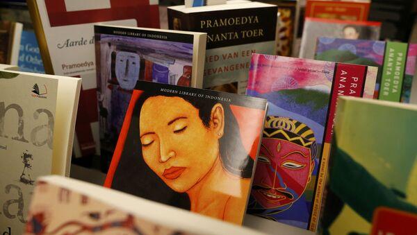 Feria del libro 2015 en Fráncfort del Meno, Alemania - Sputnik Mundo