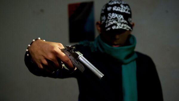 Criminal colombiano - Sputnik Mundo