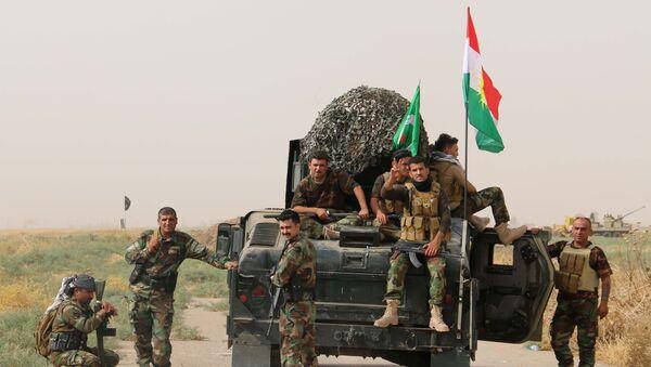 Militares kurdos (archivo) - Sputnik Mundo