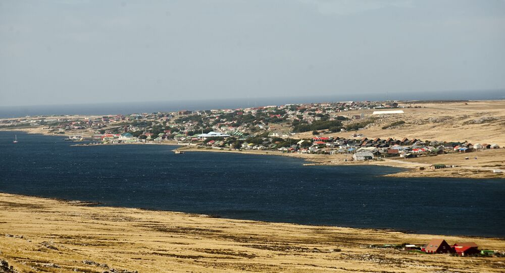 Picture of Port Stanley, in the Falkland Islands