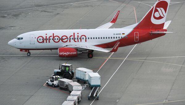 Caza Air Berlin - Sputnik Mundo