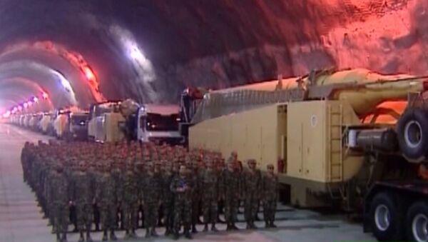 Irán abre a la prensa una fábrica de misiles subterránea - Sputnik Mundo