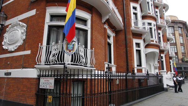 Embajada de Ecuador en Londres - Sputnik Mundo