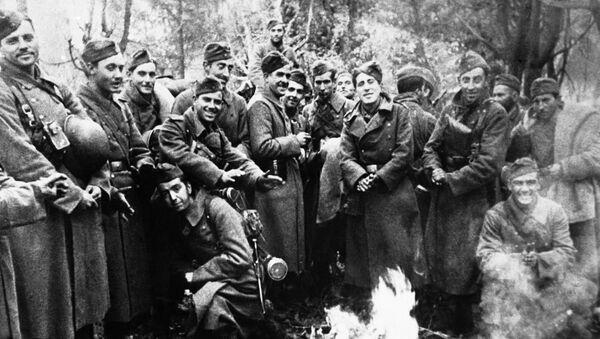 Soldados de la División Azul - Sputnik Mundo