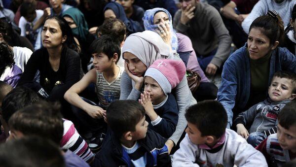 Refugiados sirios en Turquía - Sputnik Mundo