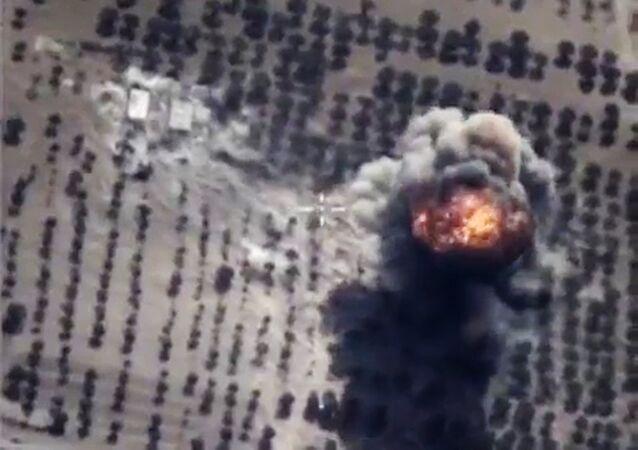 Bombardeos de Fuerza Aeroespacial rusa contra EI