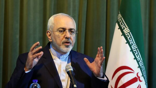 Mohammad Yavad Zarif, el canciller de Irán - Sputnik Mundo