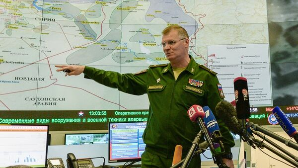El general mayor Ígor Konashenkov, portavoz del Ministerio de Defensa de Rusia - Sputnik Mundo