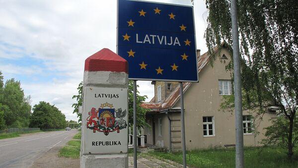 Frontera de Letonia - Sputnik Mundo