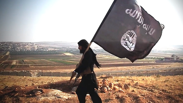 Militante del grupo terrorista Daesh - Sputnik Mundo