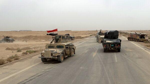 Militares iraquíes en provincia de Ramadi - Sputnik Mundo