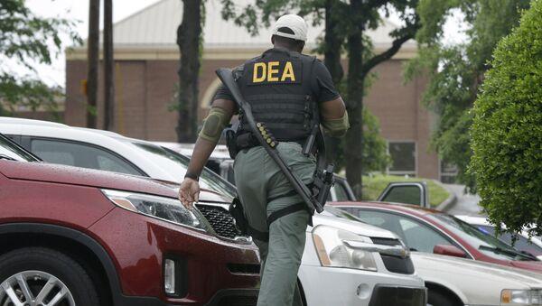 Policía de la DEA  - Sputnik Mundo